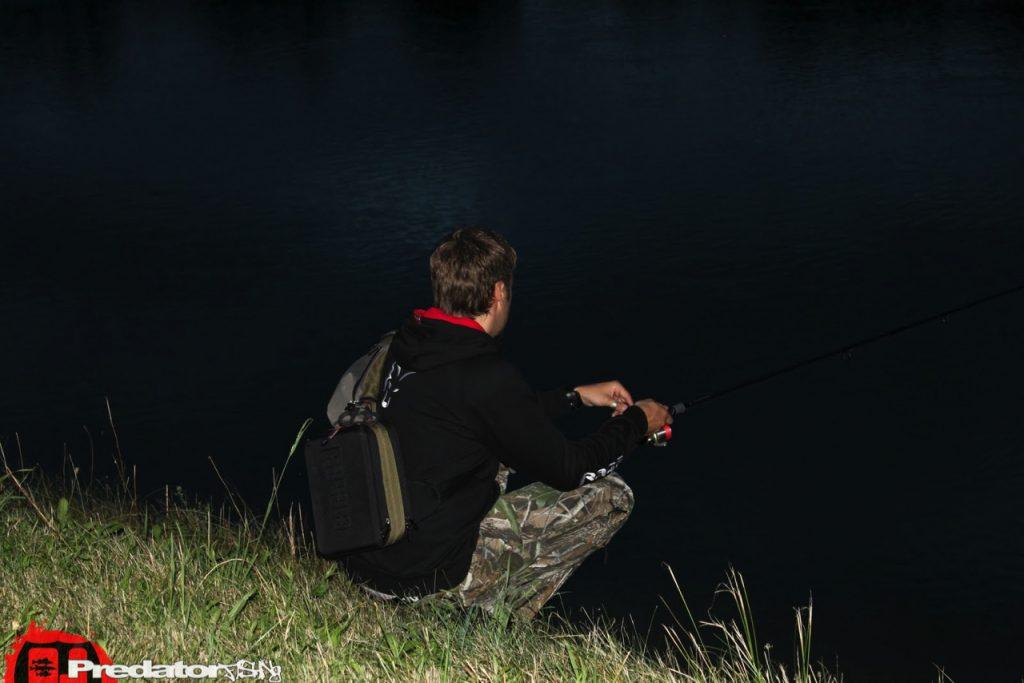MidNight Session Angeln auf Zander mit Rotfeder predatorfishing