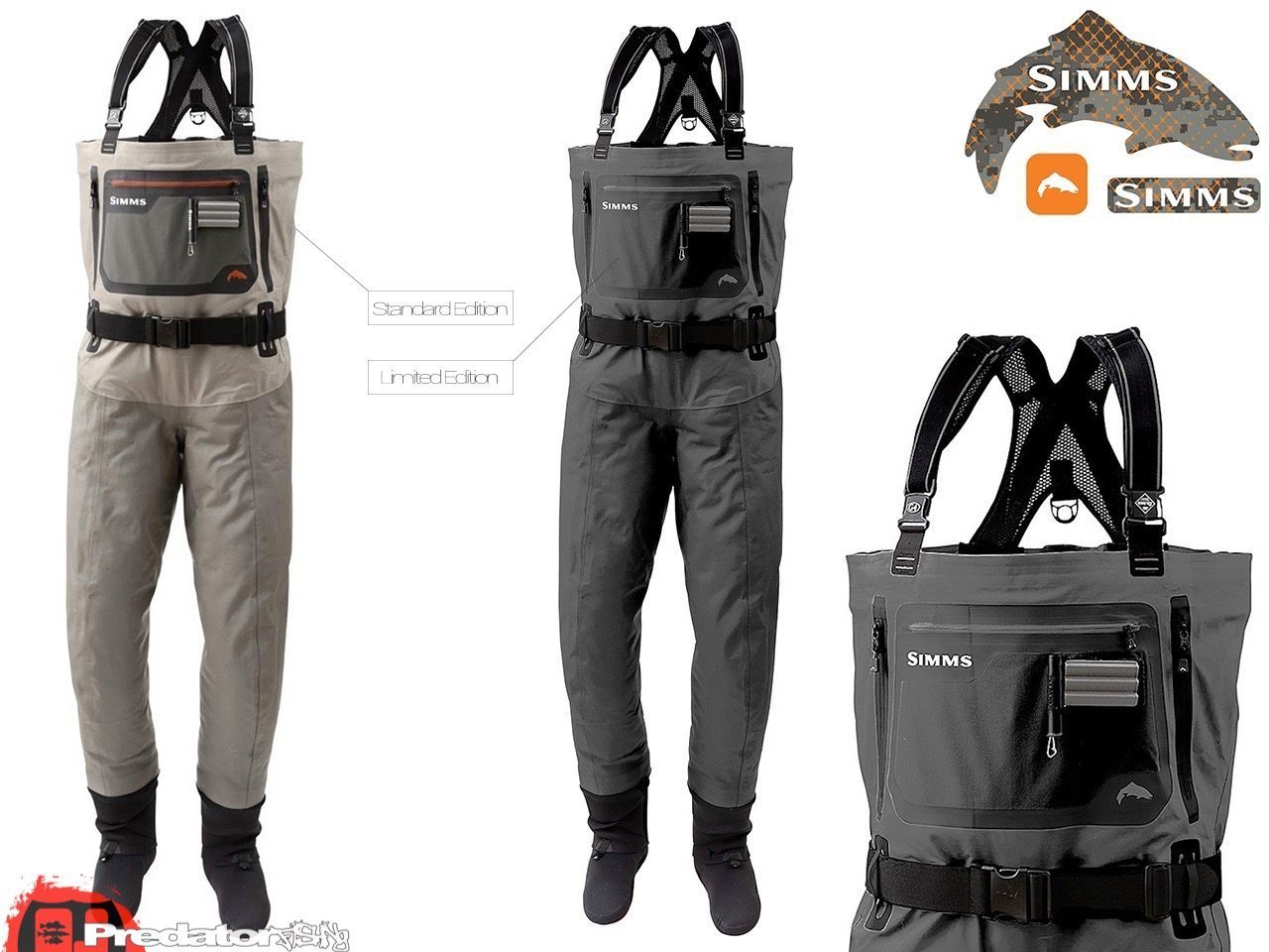 SIMMS G4X PRO LIMITED EDITION GUIDE WADERS | ☆ predator.fishing ☆