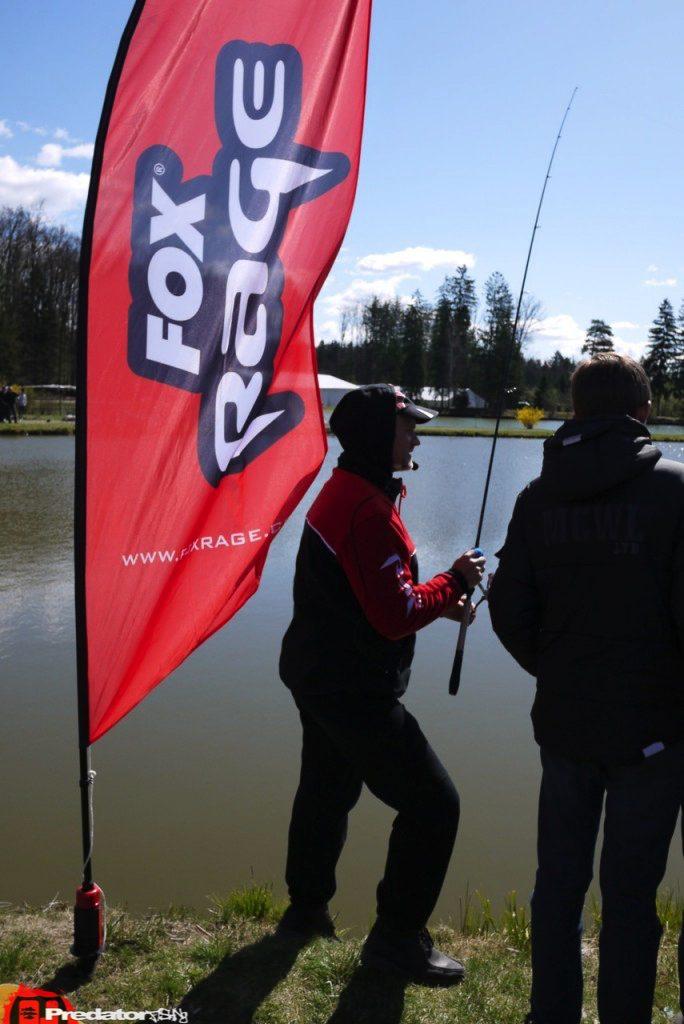 Mit FOX Rage auf der Austrian Fishing Show 2012