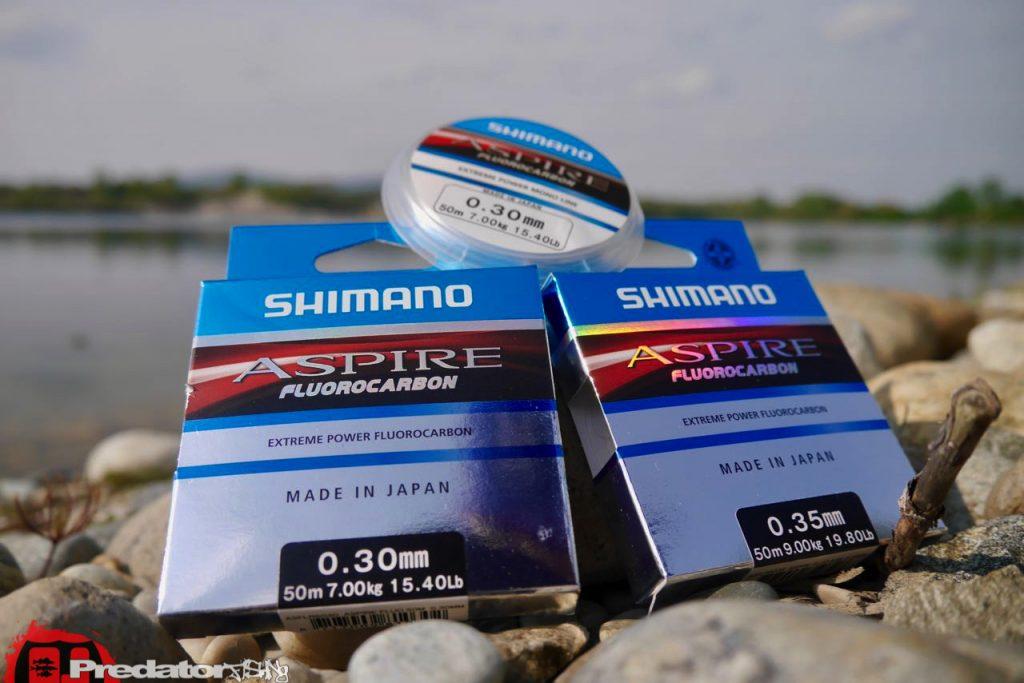 Shimano Aspire Fuorocarbon predatorfishing