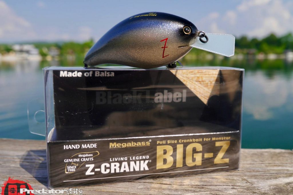 Megabass BIG-Z Z-Crank bluebackshad Black Label