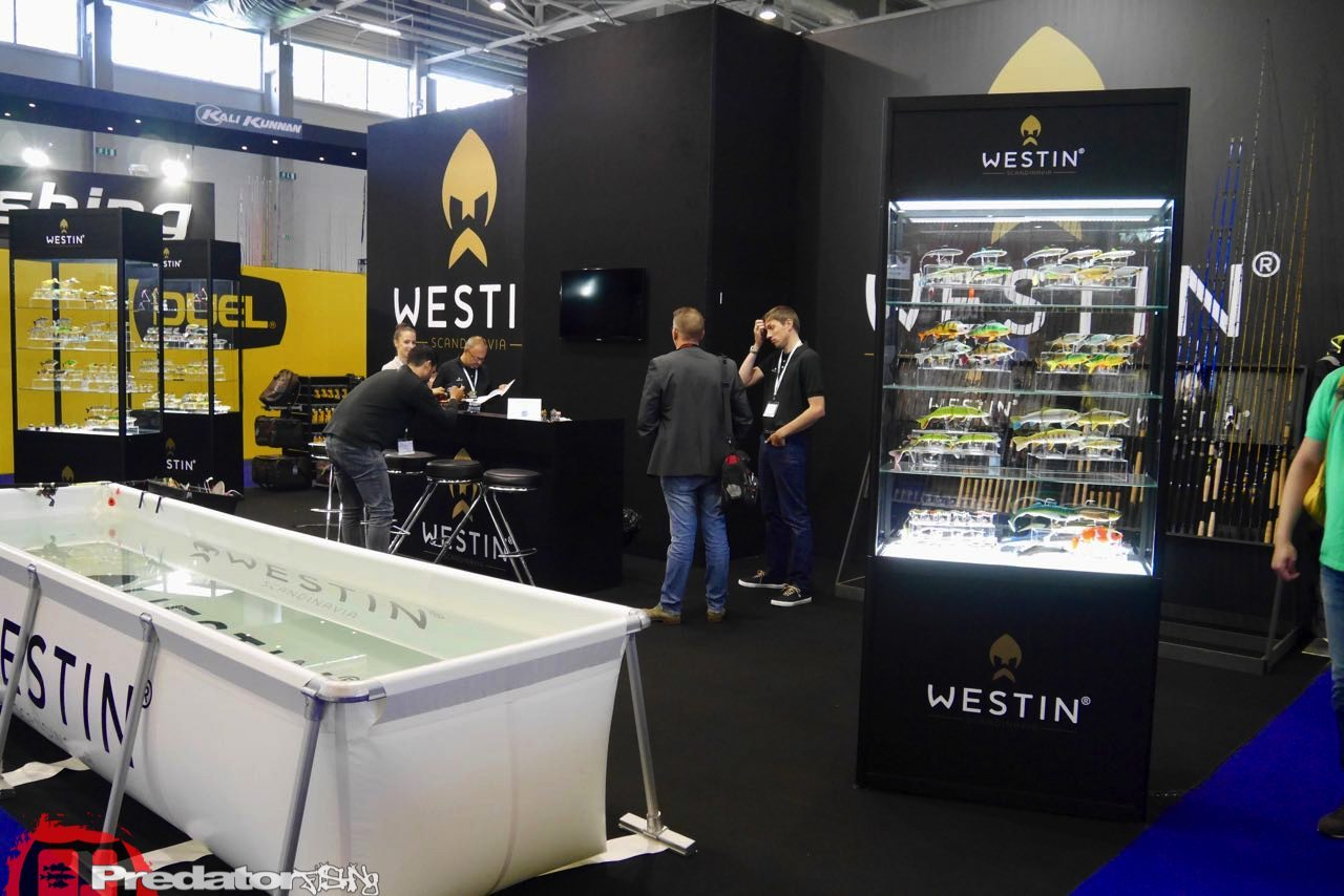 EFTTEX Budapest 2017 Tackle Trade Exhibition - Westin Messestand Booth-predatorfishing