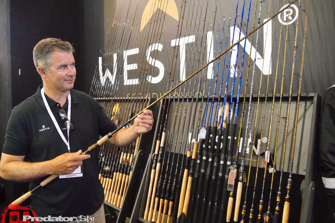 EFTTEX Budapest 2017 Tackle Trade Exhibition - Westin Rods Luc Coppens-predatorfishing