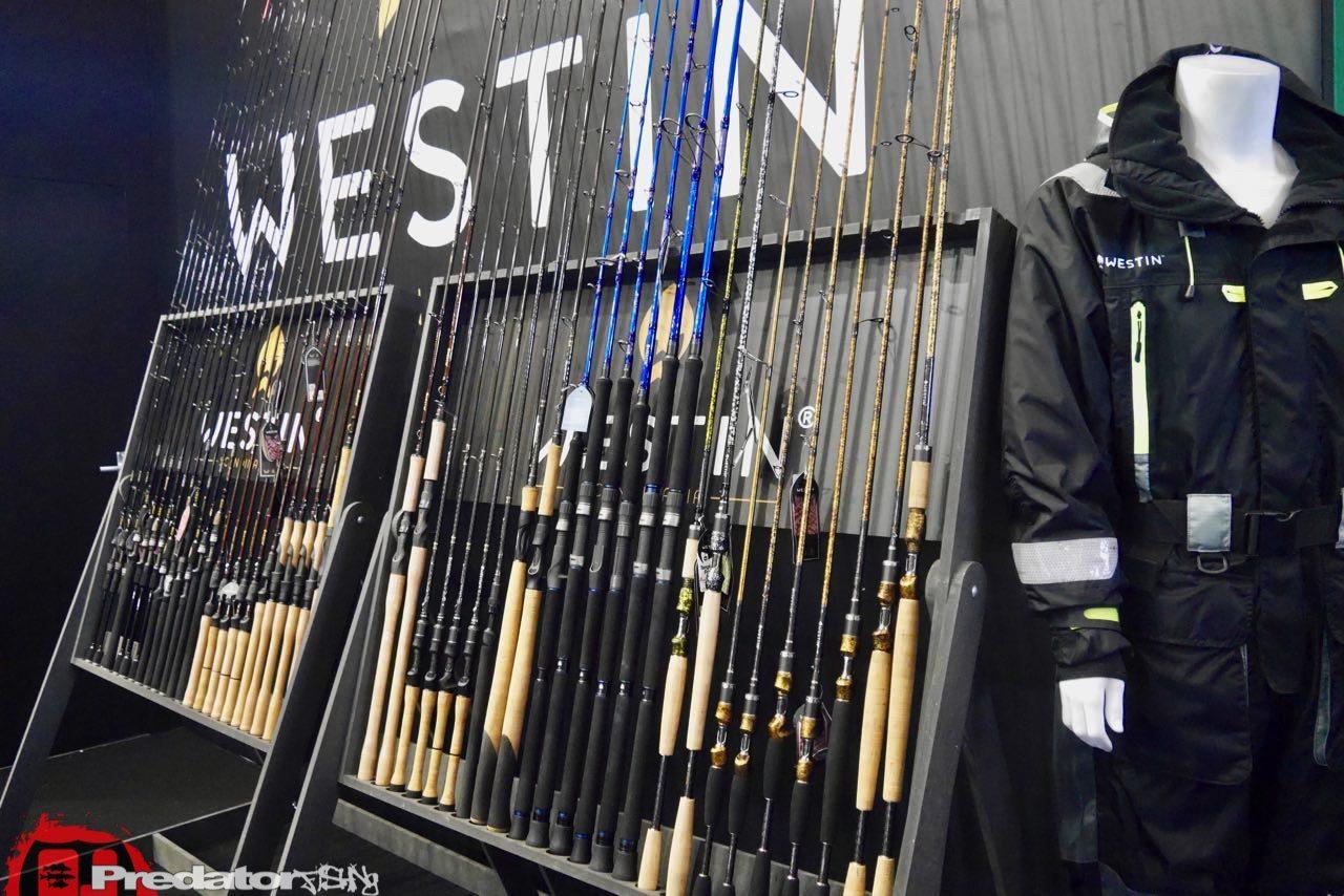 EFTTEX Budapest 2017 Tackle Trade Exhibition - Westin Rutenserie W3 W4 W6 W8-predatorfishing