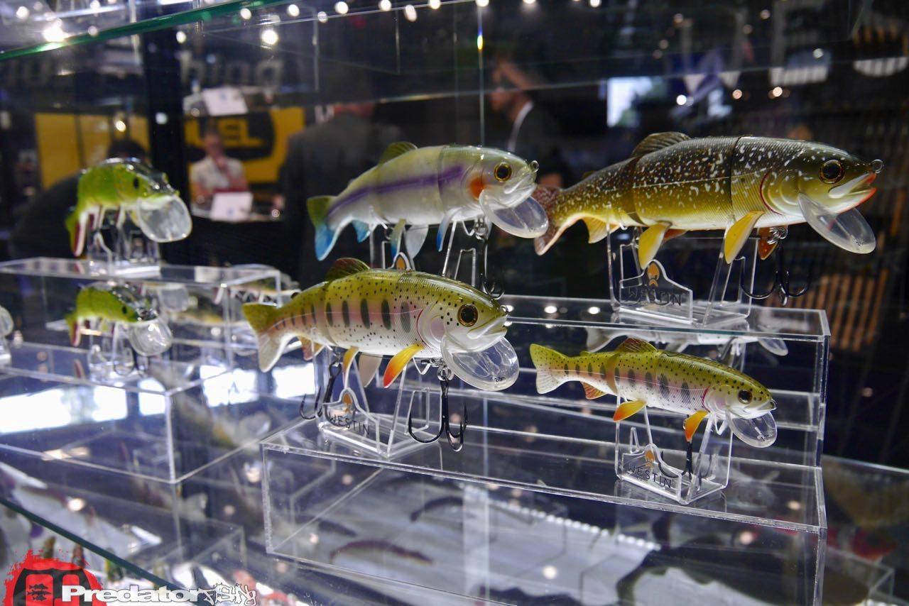 EFTTEX Budapest 2017 Tackle Trade Exhibition - Westin Swimbait-predatorfishing