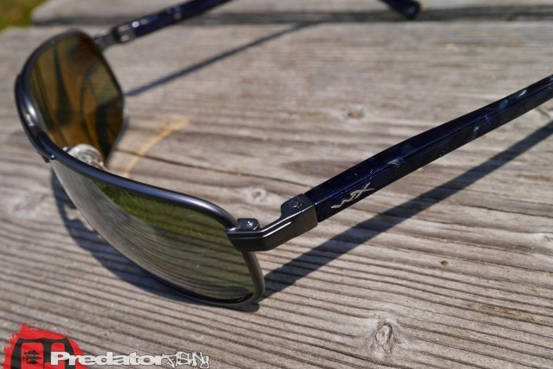Wiley X HAYDEN Pol Grey Silver Flash Matte Dark Gunmetal Frame
